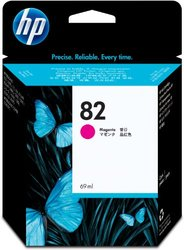 Genuine HP 82 Magenta Ink Cartridge (C4912A) Inkjet for DesignJet 500/800