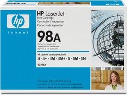 HP 92298A 92298X Toner Black